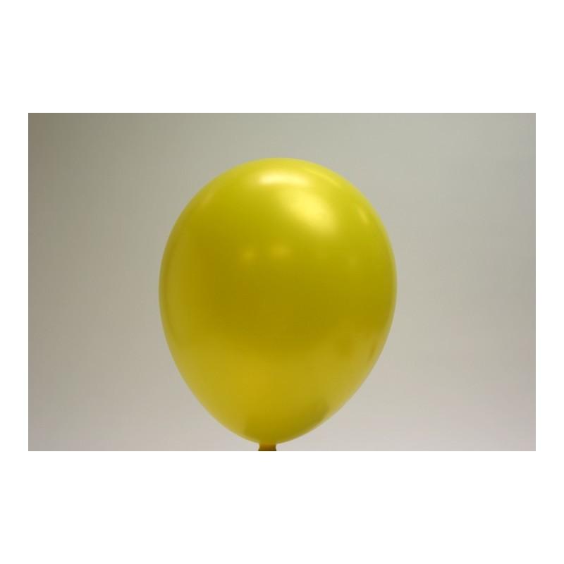 ballons jaune citron 30cm (les 25)