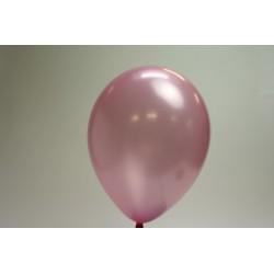 ballons vieux rose métal 30cm (les 25)