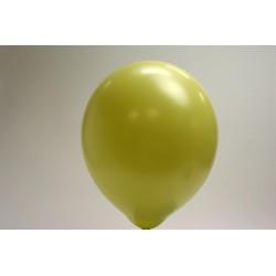 ballons vert pomme perlé 30cm (les 100)