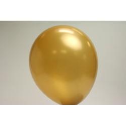 ballons or métal 30cm (les 25)
