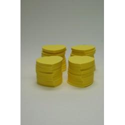 confetti de scène 250g jaune  (pour 25 personnes)