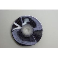 ruban : fil raphia armé torsadé 10m x 3mm  violet