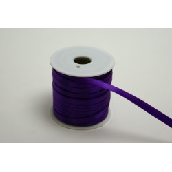 ruban : satin double face 25m x 6mm violet