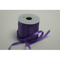 ruban : satin double face 25m x 6mm lilas (parme)