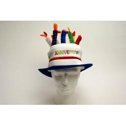 humoristique : chapeau gâteau anniversaire