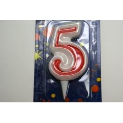 bougie anniversaire 5 ans