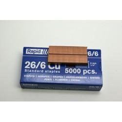 5000 agrafes bureautique 26/6 6mm