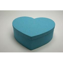 tirelire cœur taille XL turquoise