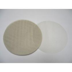 conditionnement tissu : tulles «nid d'abeille» ivoire  (les 50)