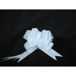 nœuds automatiques : 25 modèles papillons 19*20cm Ref 50/115 BLANC effet kraft