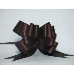 nœuds automatiques : 25 modèles papillons 6*7cm Ref 16/28 chocolat effet kraft
