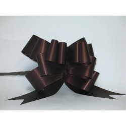 nœuds automatiques : 25 modèles papillons 19*20cm Ref 50/115 chocolat effet kraft