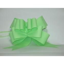 nœuds automatiques : 25 modèles papillons 6*7cm Ref 16/28 vert anis effet kraft