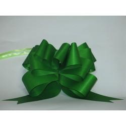 nœuds automatiques : 25 modèles papillons 6*7cm Ref 16/28 vert effet kraft