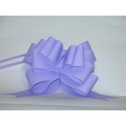 nœuds automatiques : 25 modèles papillons 6*7cm Ref 16/28 lilas (parme) effet kraft