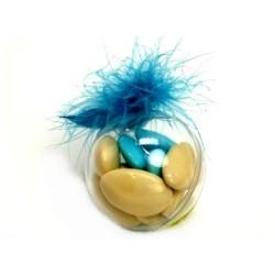 conditionnement plastique :  boules transparentes 5cm  (les 25)