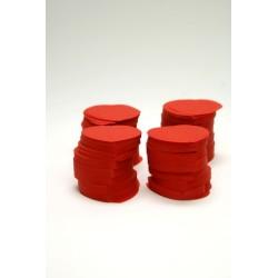 confetti de scène 100g rouge  (pour 10-15 personnes)