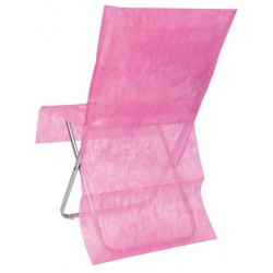 nappage : housses de chaise fuchsia les 10