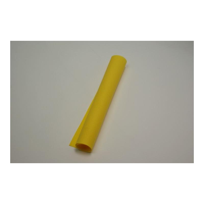 serviettes imitation tissu 40 x 40 cm jaune citron (les 50)