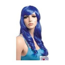 Perruque : Lola bleue
