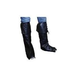 Accessoires : Cache-bottes avec revers et lacets