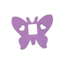 Déco en papier : Guirlande papillons 4m lilas (parme)