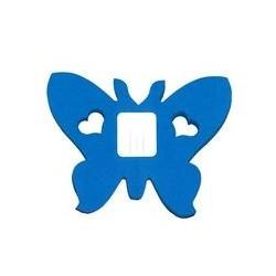 déco en papier : Guirlande papillons 4m turquoise