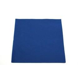 serviettes  caress ou celi-ouate 38*38cm bleu marine (les 50)