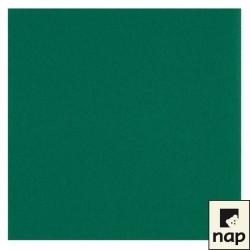serviettes imitation tissu 40x40cm vert sapin (les 60)