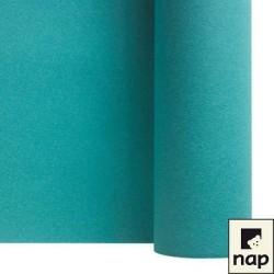 nappe imitation tissu 1,2*25m turquoise