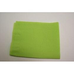 "50 serviettes molletonnées 38x38cm ""tendance"" vert anis"
