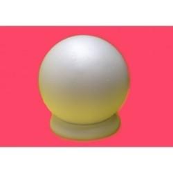 plateau polystyrène : Boule 30 cm sur socle
