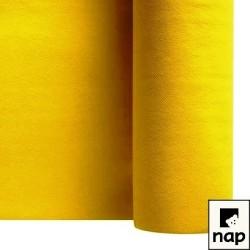 nappe imitation tissu jaune citron 1,2*25m