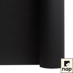 nappe imitation tissu 1,2*10m noire