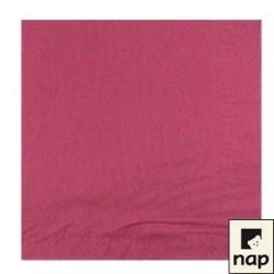 serviettes ouate 38x38cm violet (aubergine) ou lie de vin (les 100)