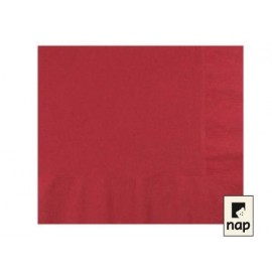 serviettes ouate 39 x 39 cm bordeaux (les 100)