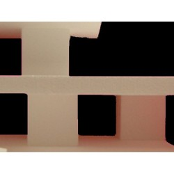 Réhausse polystyrène : socle cube 150x150x100 mm