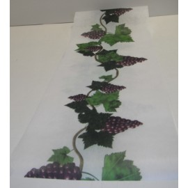 chemin de table motif vignes