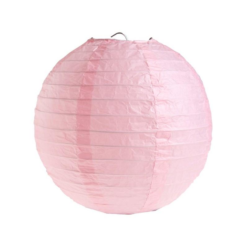 Lanterne rose 50cm