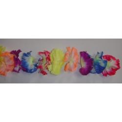Guirlande de fleur multicolores 4m