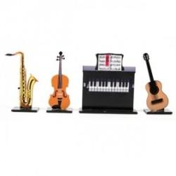set de 4 marque places musique