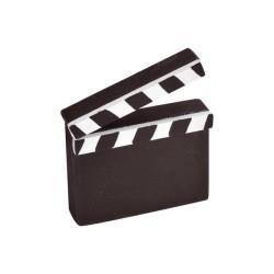 Marque-places clap cinéma 6,5 x 6cm par 2