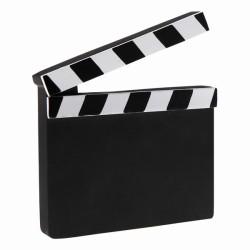 Clap cinéma 14 x 11.5cm
