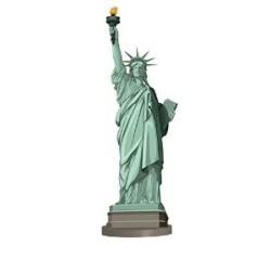 Centre de table statue de la liberté 30 x 9.5cm