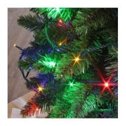 Guirlande FLICKER LIGHT 128 LED multicolores 8m