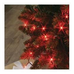 Guirlande FLICKER LIGHT 128 LED rouge 8m