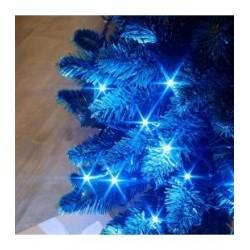 Guirlande FLICKER LIGHT 128 LED bleu 8m