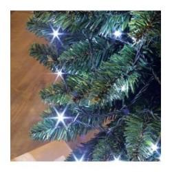 Guirlande FLICKER LIGHT 288 LED blanc pur 25m