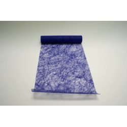 nappage : chemin de table 10mx30cm violet