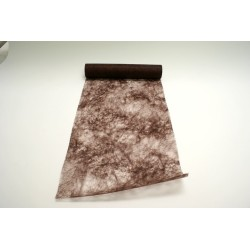 nappage : chemin de table 10mx30cm chocolat
